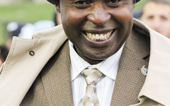 Gitau: from schoolboy in Kenya to university leader