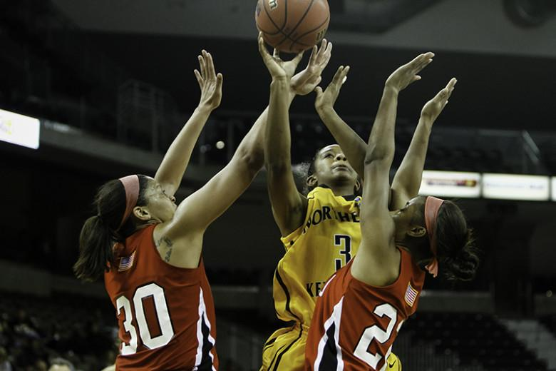NKU's women's basketball team takes their third loss of the season to WKU