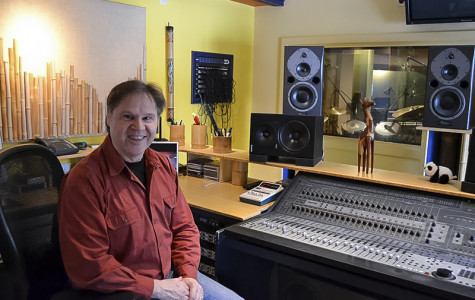 World class music producer shares wisdom with students