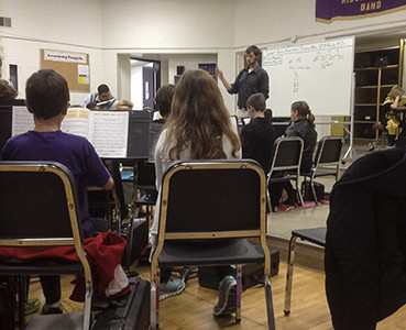 Hands-on learning helps music education majors flourish