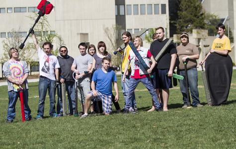 New campus club marches to battle on Griffin Lawn