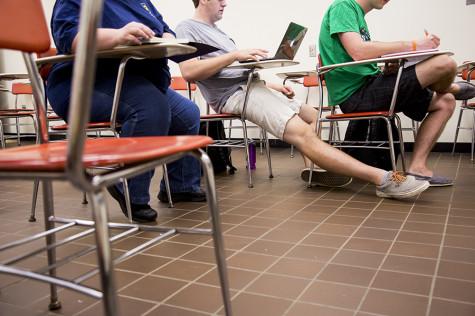 Small Desks Deliver Discomforting Disturbances