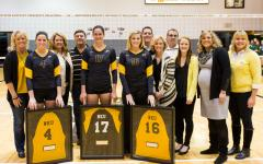 Ruble leads team to victory on Senior Night