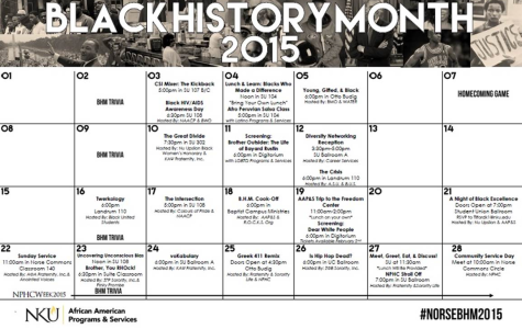 Black History Month plans to unite students in diversity