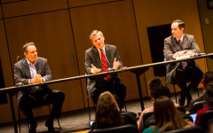 Republican primary candidates clash at gubernatorial debate