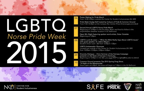 A move to awareness and understanding: Norse Pride Week