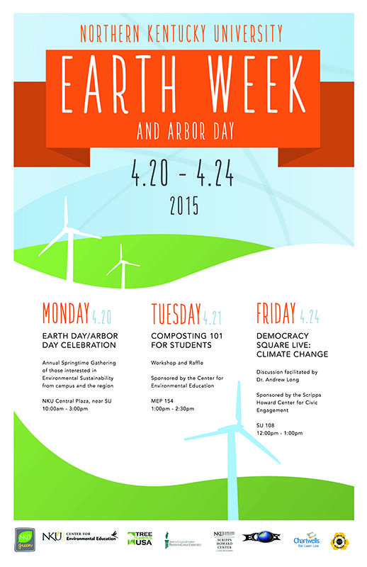 Earth week and Arbor day is set to bring education, events and fun to campus