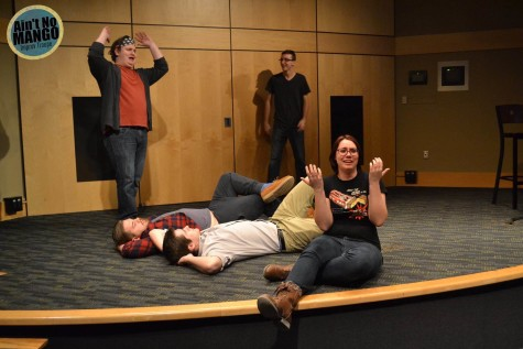 Just roll with it : NKU improv group takes the stage