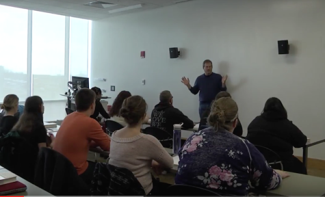 VIDEO: Best-selling author begins series of events at NKU