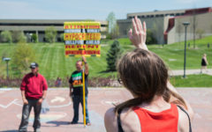Campus ministry and LGTBQ services come together to compete with street preachers