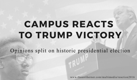 Campus reacts to Trump victory