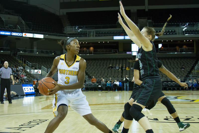 Norse get dominated in the paint, fall to Wright State