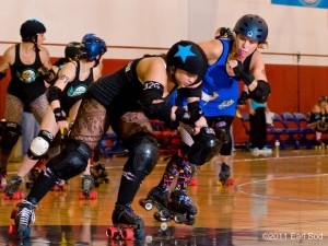 The Black-n-Bluegrass Roller Derby League will begin playing at the BOKC. The league hopes to attract new fans.