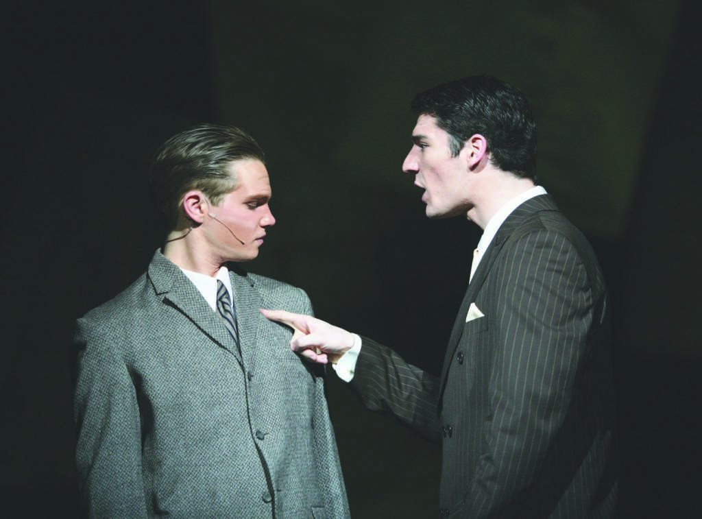 Play recounts true events with humor, drama