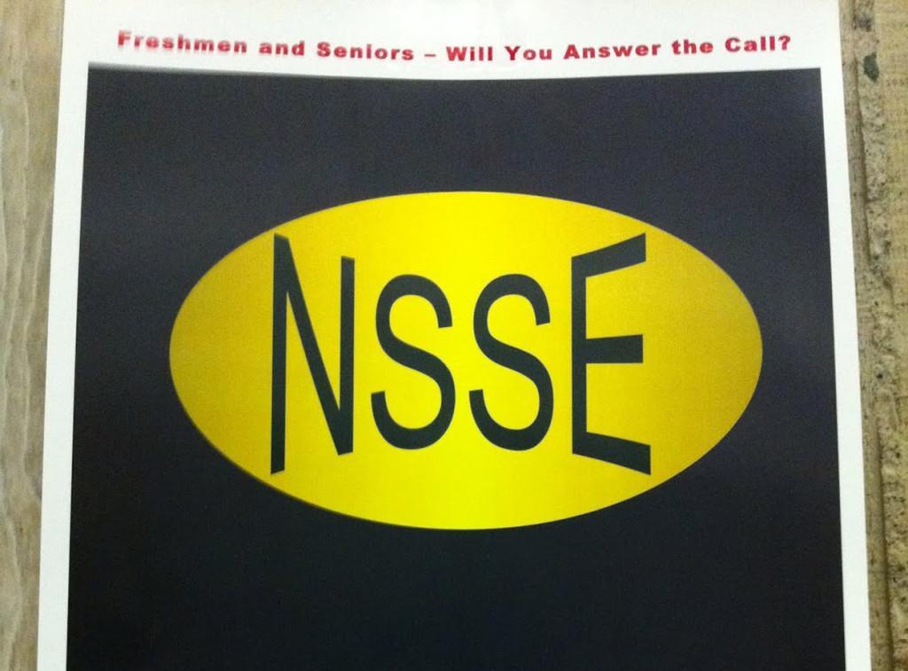 National survey benefits students, university
