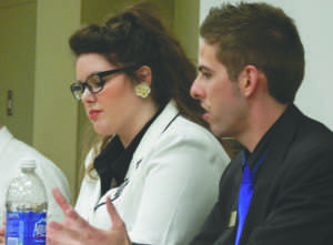 SGA hopefuls face-off for student Loyalty