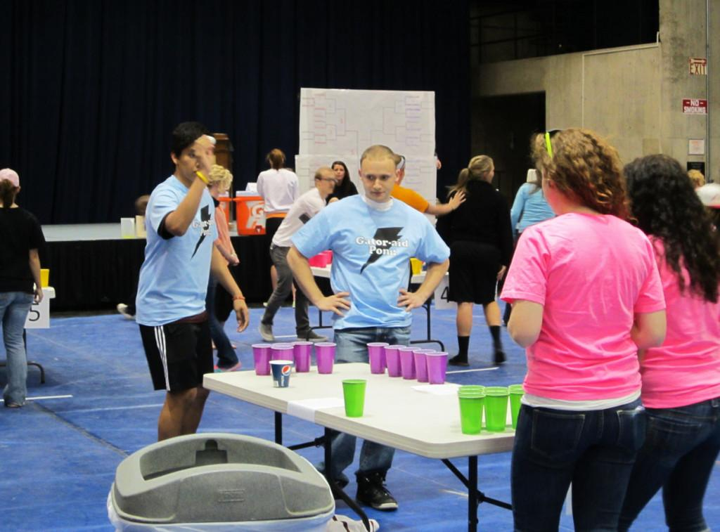 Students+play+pong+to+raise+funds%2C+awareness