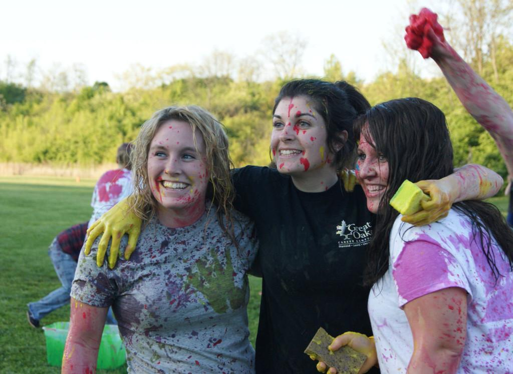 Student organizes first-ever Paint Wars event