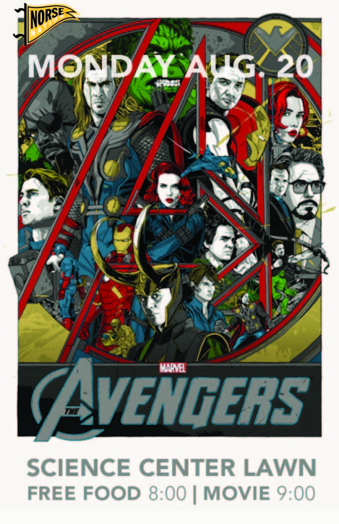 """The Avengers"" screening and cook-out tonight"