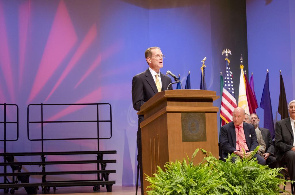 New president plans to improve recruitment