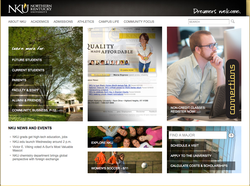 The+new+homepage+will+be+easier+to+navigate+not+only+for+prospective+students+but+for+current+students%2C+parents+and+faculty%2Fstaff.