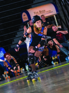 Rollergirls look for student support