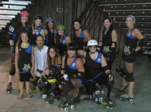 Rollergirls wrap up regular season