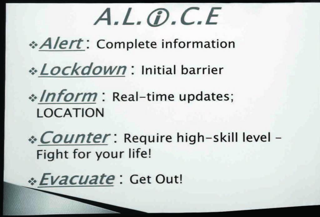 Safety seminar prepares for school shootings