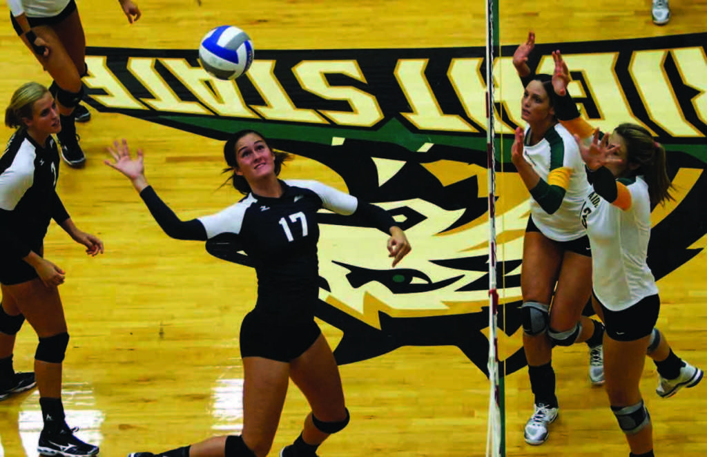 Volleyball team coasting through D-I