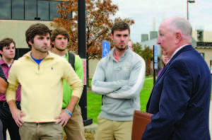 Student senate holds biannual safety walk
