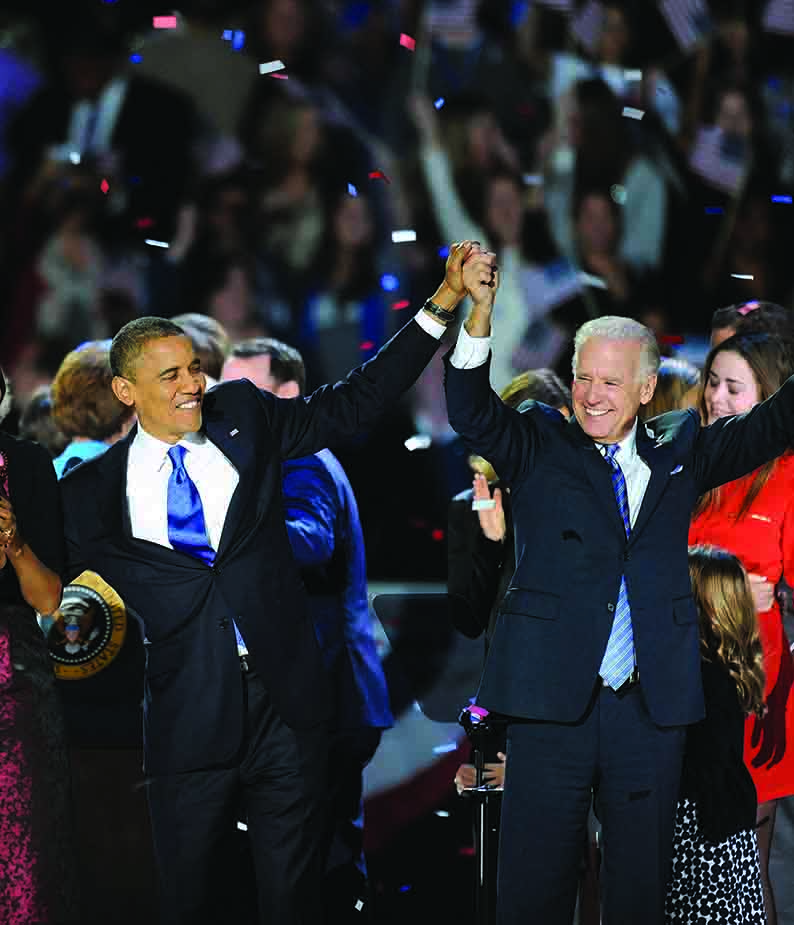 Obama secures four more years