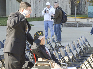 University honors veterans with day of ceremonies