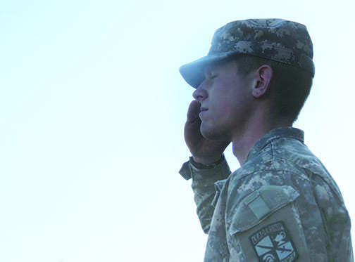Service becomes a family tradition for student veteran