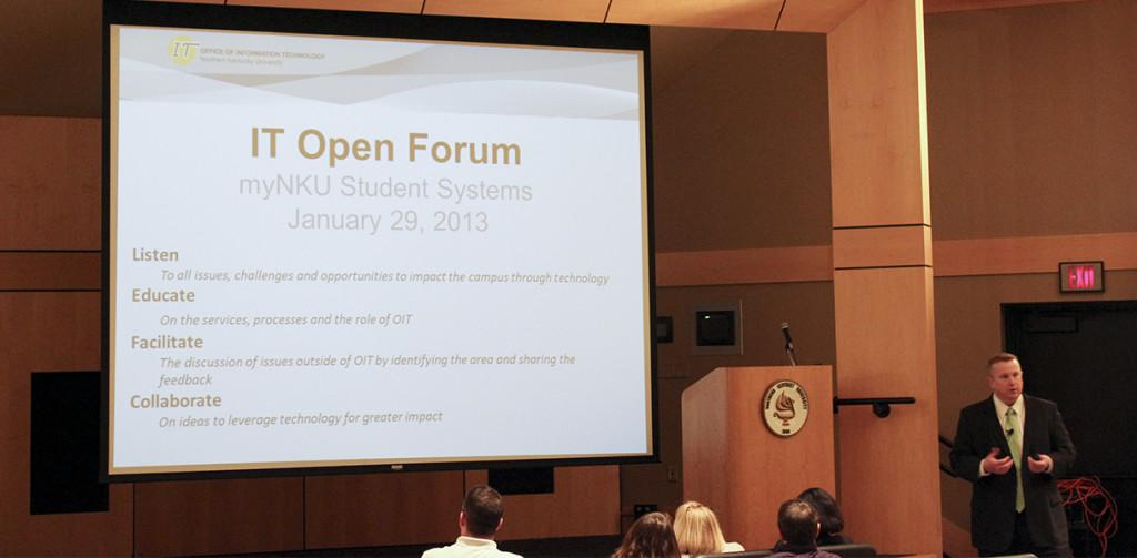 Technology to improve after open forums