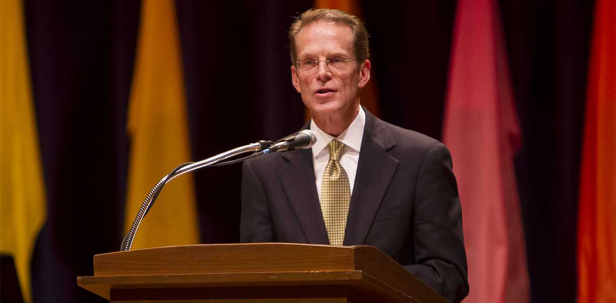 President Mearn's at Spring 2013 Convocation