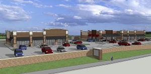 Ground broken for retail complex
