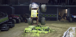 Monster trucks roar at BOKC