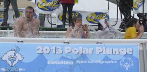 Phi Alpha Delta partakes in Polar Plunge
