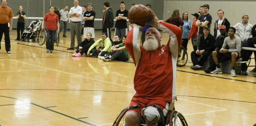Rec hosts first annual wheelchair basketball event