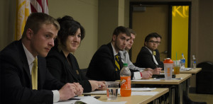 SGA presidential candidates debate for student votes