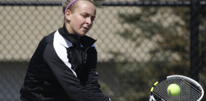 Tennis teams fall to Mercer at home
