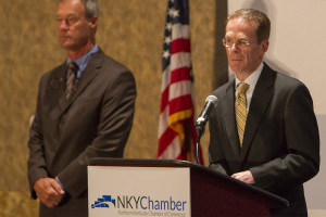New athletic director celebrates 'a new day in NKU athletics' with Chamber of Commerce