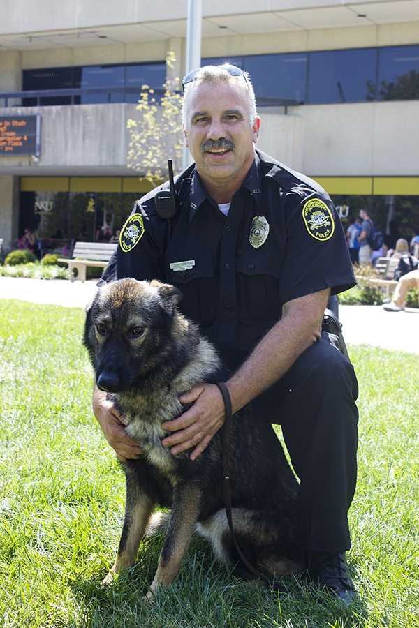 Campus police acquire explosives-detection canine
