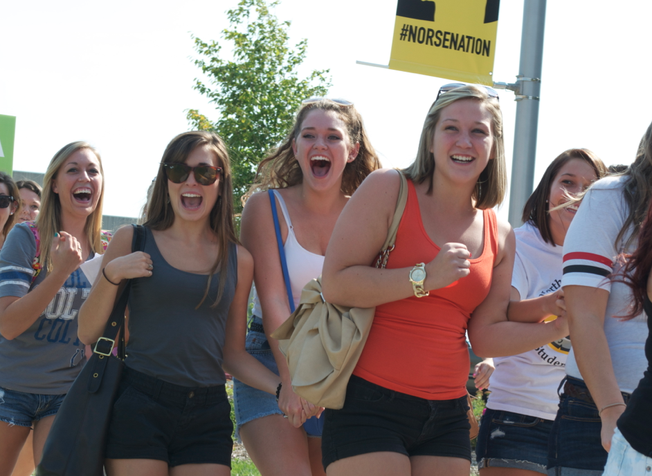 Sorority Bid Day 2013 -- Video Report