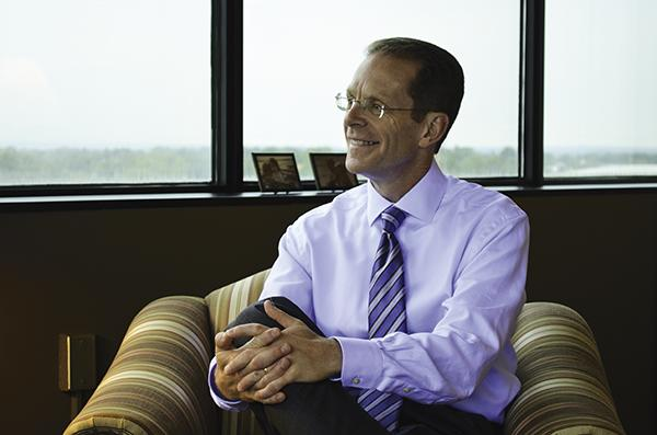 Mearns was hired to be Ball State University's 17th president.