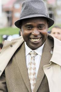 Gitau: from schoolboy in Kenya to university leader