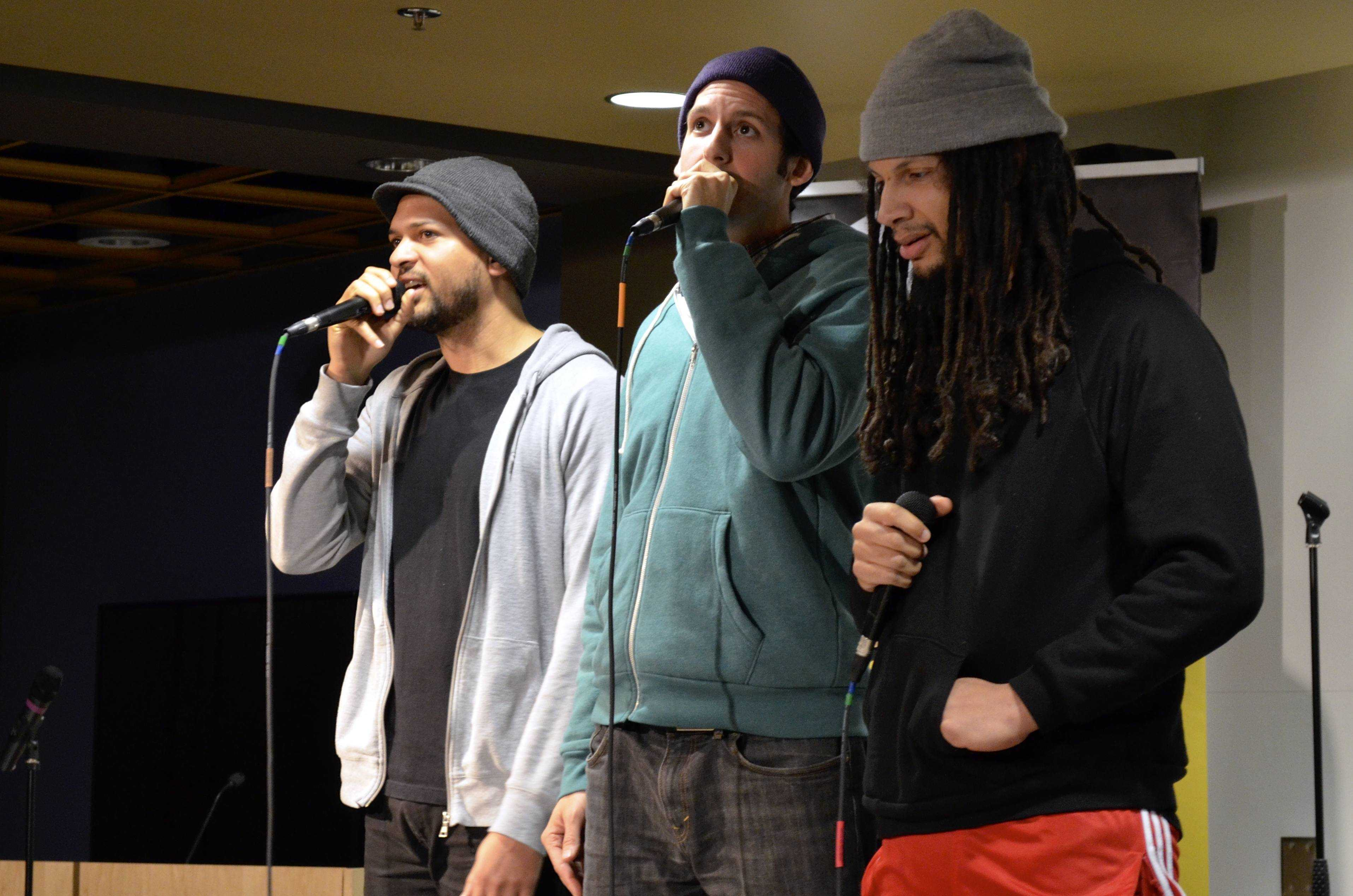 The Mayhem Poets took the stage at NKU this past week.