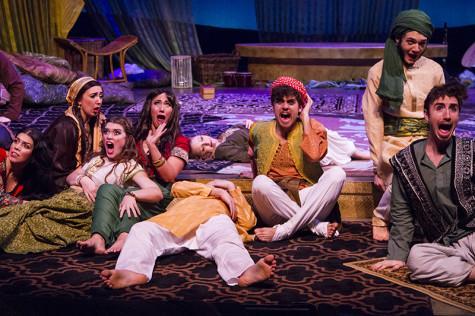 Curtains open on Arabian Nights