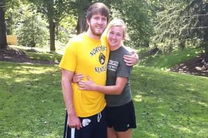 Student athletes keep relationship alive despite distance