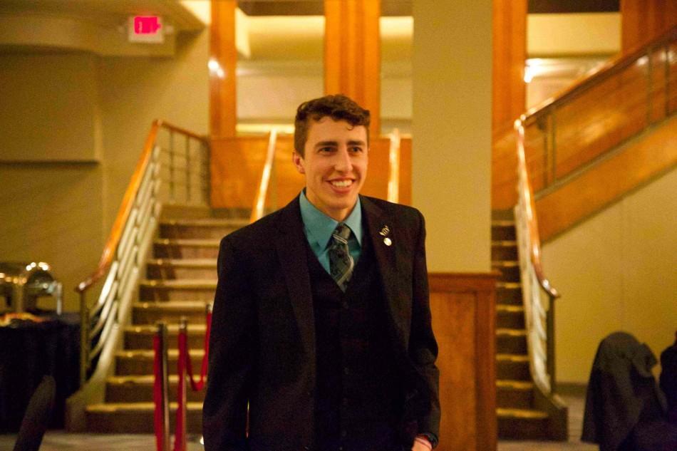 Nathan Garbig, Homecoming 2014 Prince.